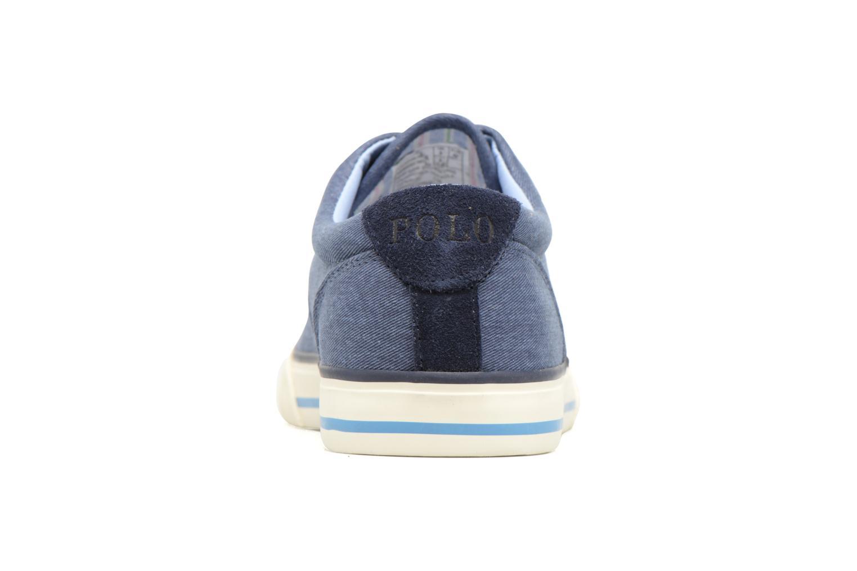 Sneaker Polo Ralph Lauren Vaughn-Ne blau ansicht von rechts