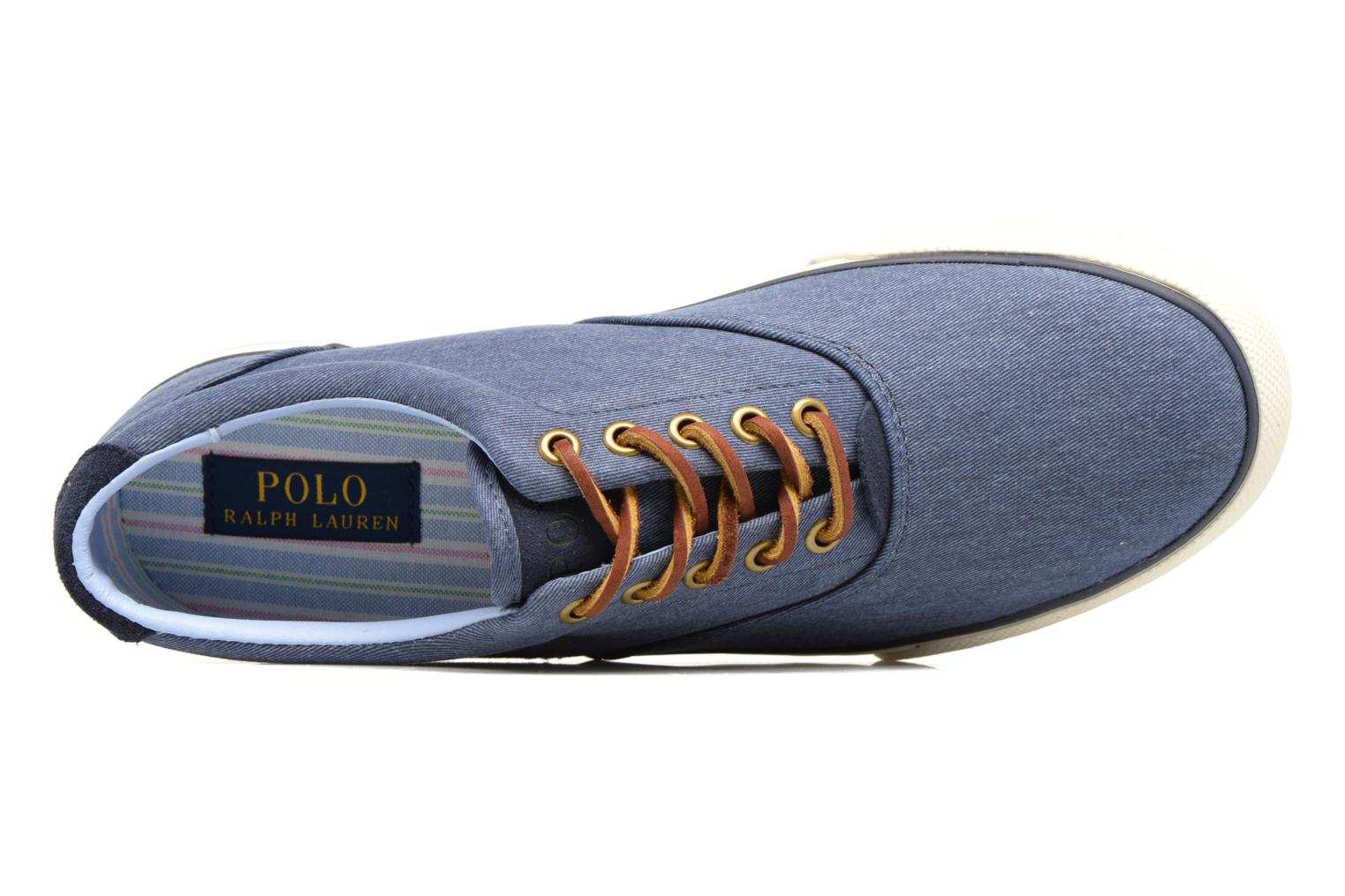 Sneakers Polo Ralph Lauren Vaughn-Ne Blauw links
