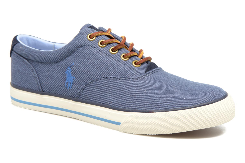 Sneakers Polo Ralph Lauren Vaughn-Ne Blå detaljerad bild på paret