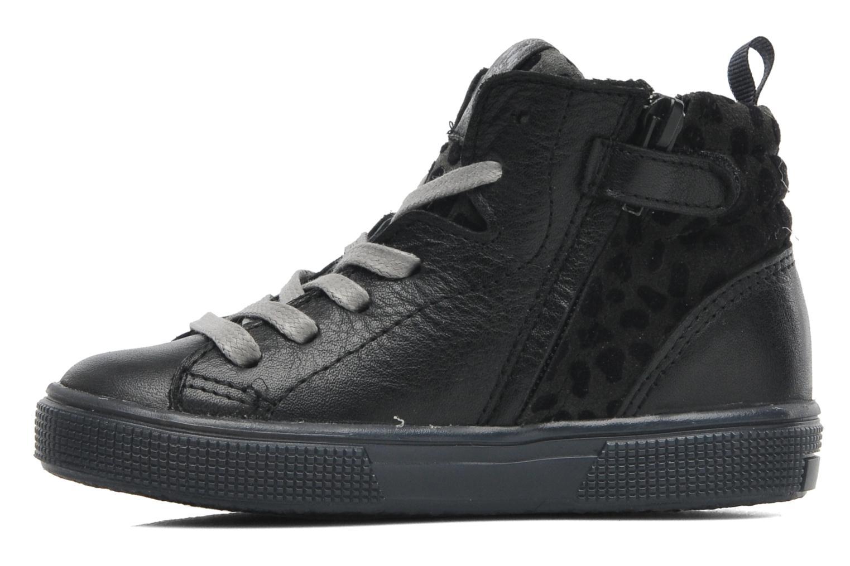 Sneaker Acebo's Modinette schwarz ansicht von vorne