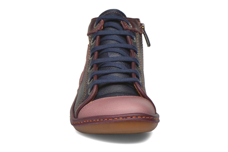 Baskets Art A684 Kio Violet vue portées chaussures