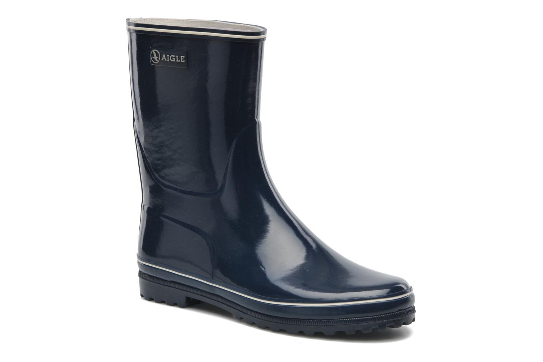 Ankle boots Aigle Venise Bottillon Blue detailed view/ Pair view