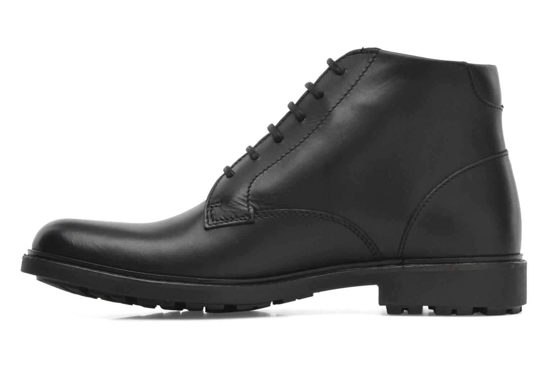 Chaussures à lacets Aigle Britten Mid Gtx Noir vue face