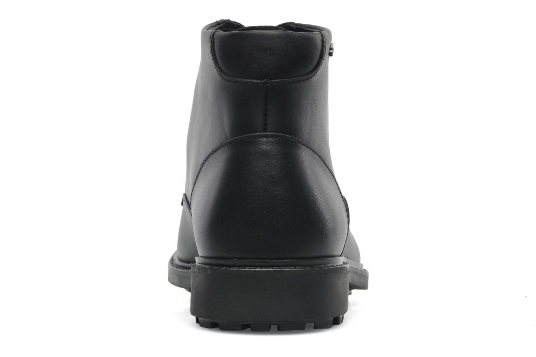 Chaussures à lacets Aigle Britten Mid Gtx Noir vue droite
