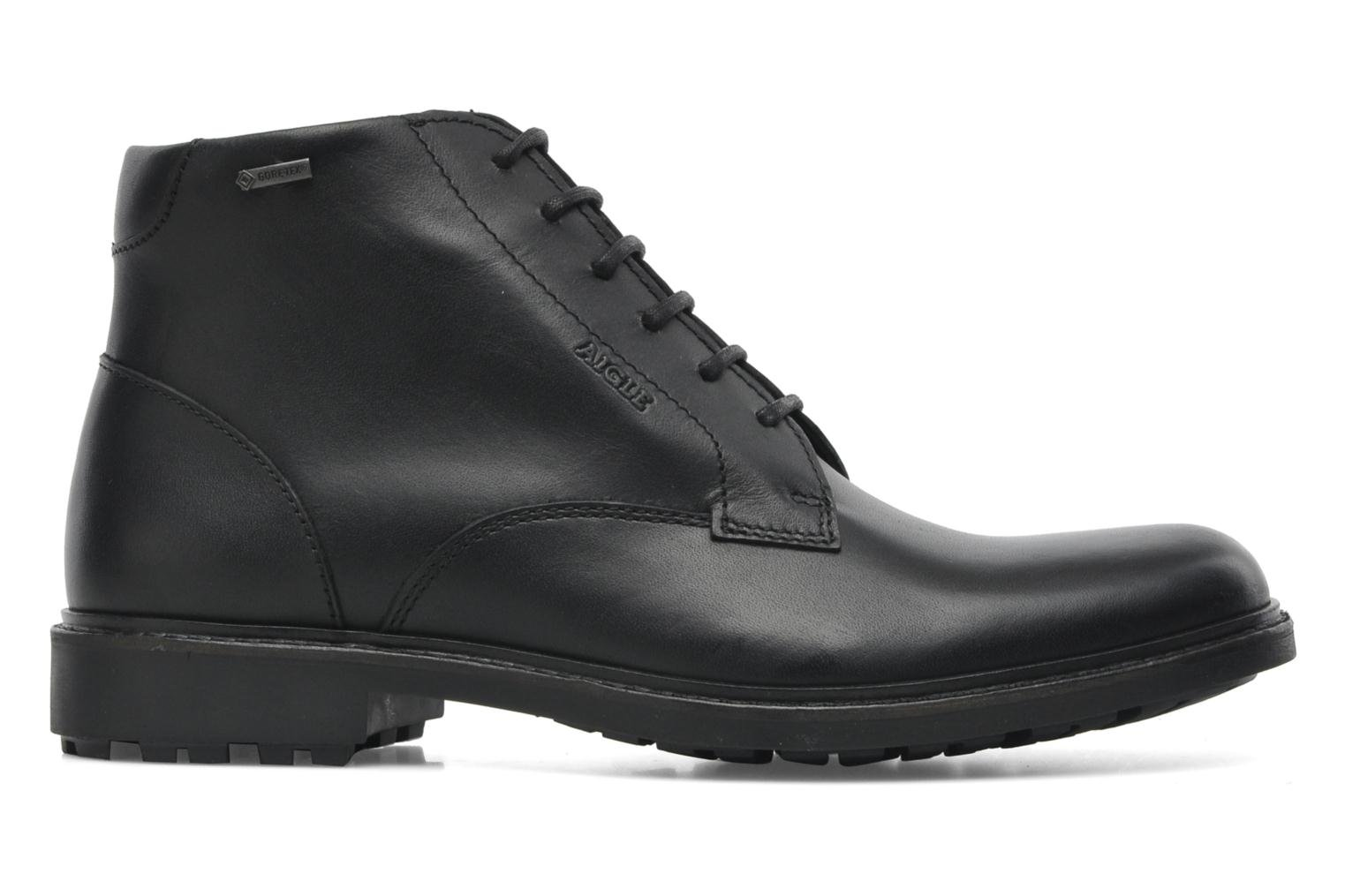 Lace-up shoes Aigle Britten Mid Gtx Black back view