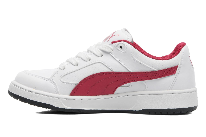 Sneakers Puma JR REBOUND V2 LO. Wit voorkant