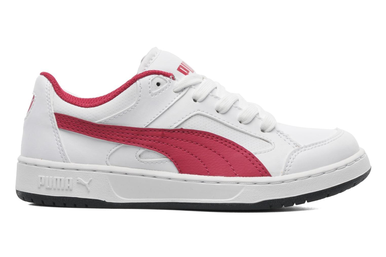 Sneakers Puma JR REBOUND V2 LO. Wit achterkant