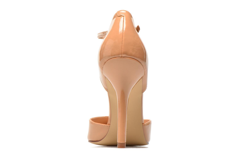Zapatos de tacón Guess Teren Beige vista lateral derecha