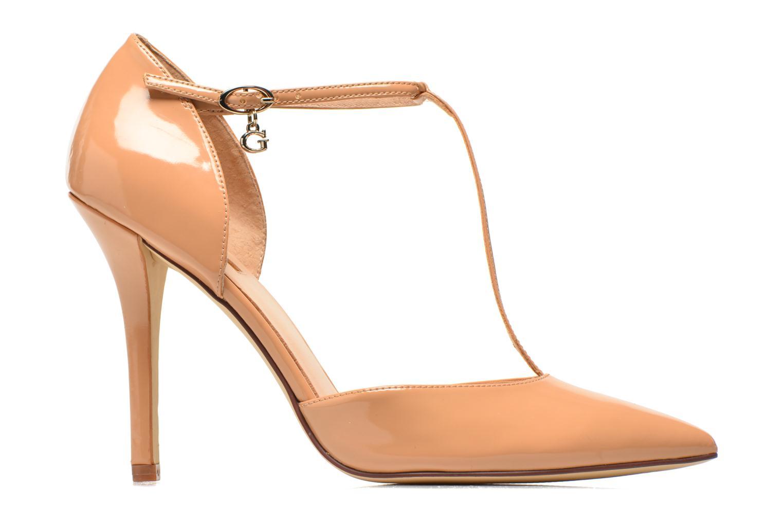 High heels Guess Teren Beige back view