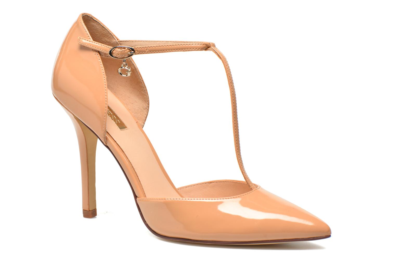 Zapatos de tacón Guess Teren Beige vista de detalle / par