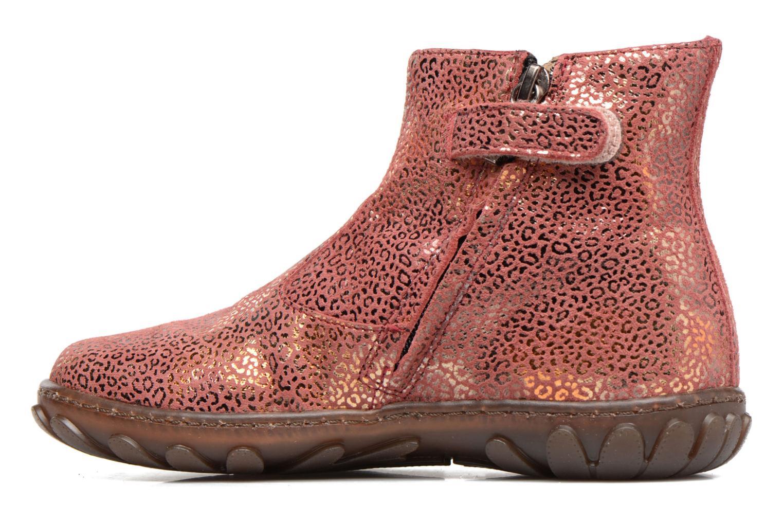 Boots en enkellaarsjes Pom d Api CUTE BOOTS CAT Roze voorkant
