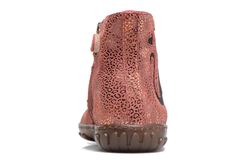Boots en enkellaarsjes Pom d Api CUTE BOOTS CAT Roze rechts