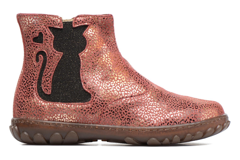 Bottines et boots Pom d Api CUTE BOOTS CAT Rose vue derrière