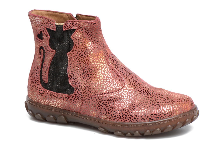 Bottines et boots Pom d Api CUTE BOOTS CAT Rose vue détail/paire