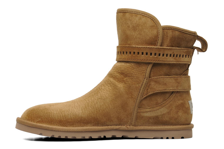 Bottines et boots UGG Leni Marron vue face