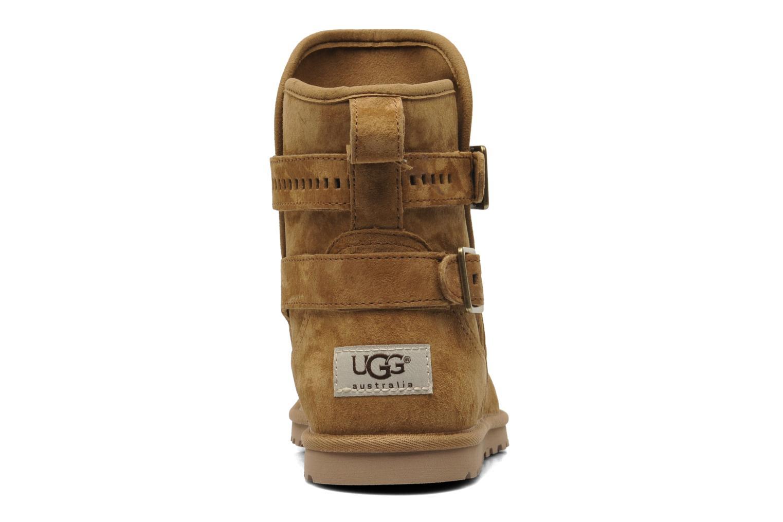 Bottines et boots UGG Leni Marron vue droite