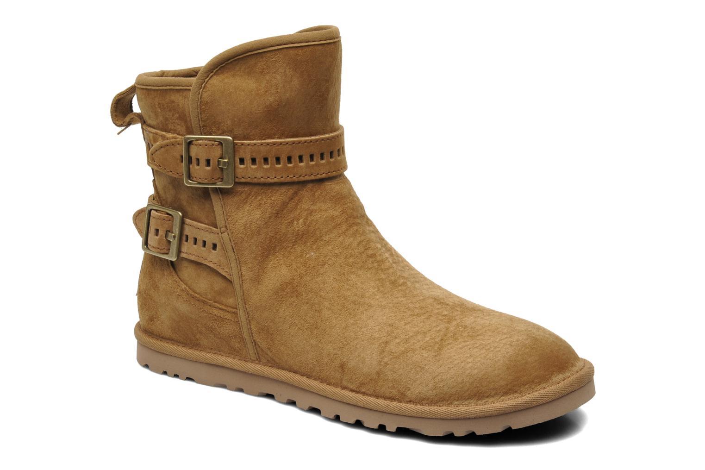 Bottines et boots UGG Leni Marron vue détail/paire