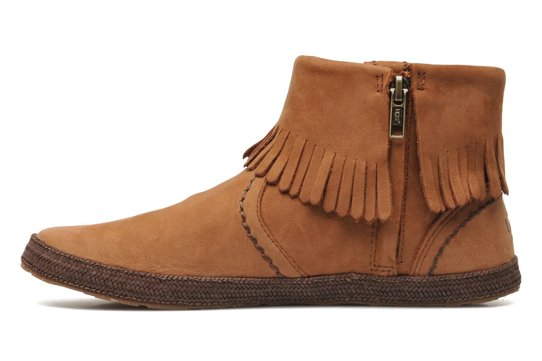 Stiefeletten & Boots UGG Tiana braun ansicht von vorne