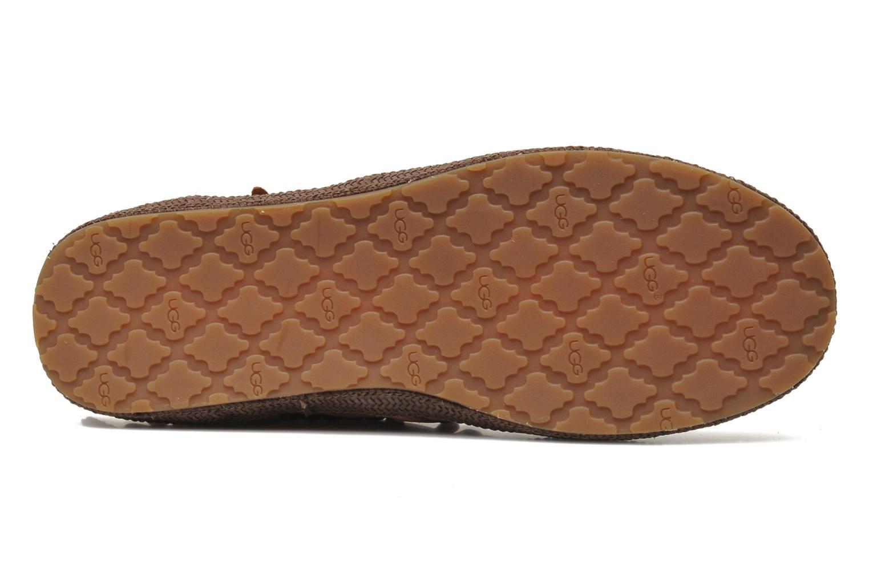 Stiefeletten & Boots UGG Tiana braun ansicht von oben