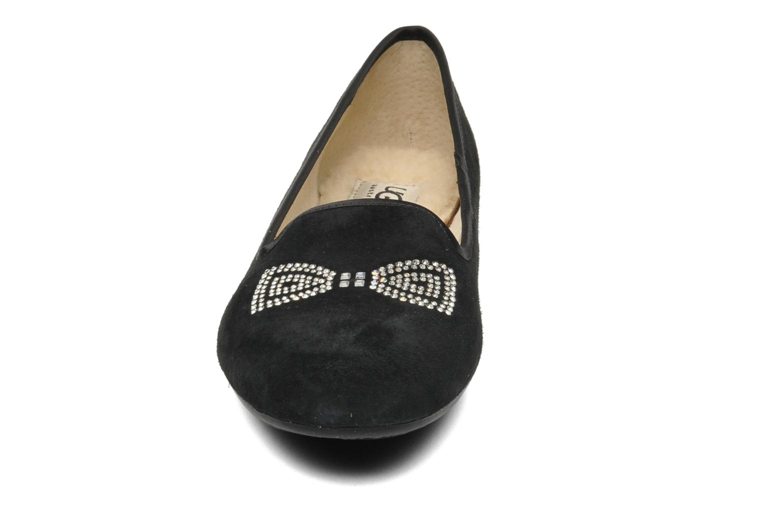 Slippers UGG Alloway Crystal Bow Black model view