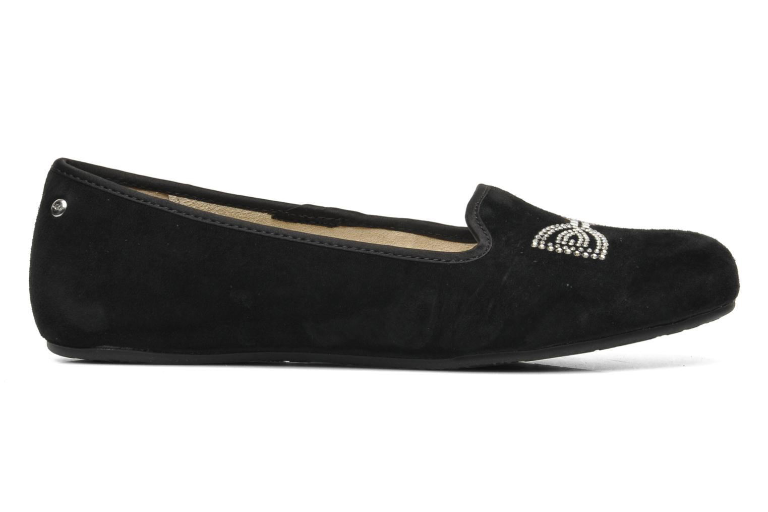 Slippers UGG Alloway Crystal Bow Black back view