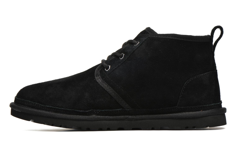 Chaussures à lacets UGG Neumel Noir vue face
