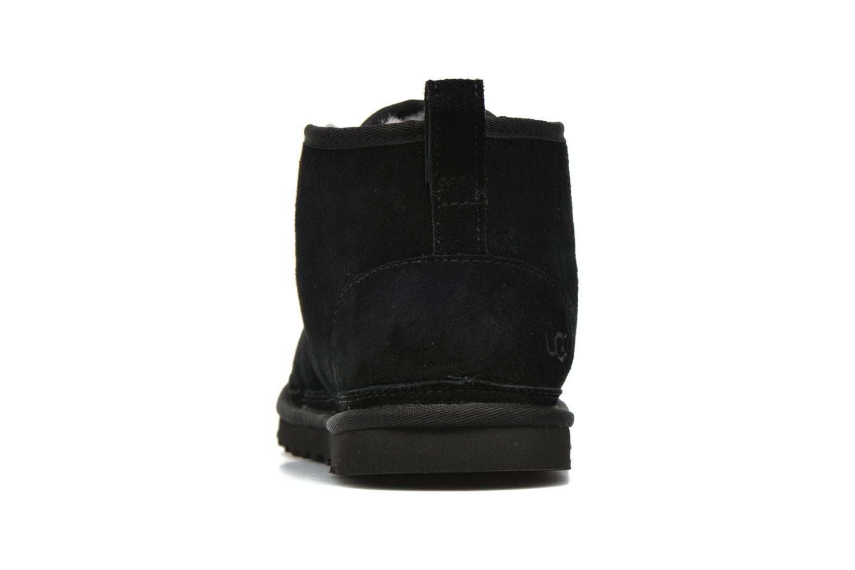 Chaussures à lacets UGG Neumel Noir vue droite
