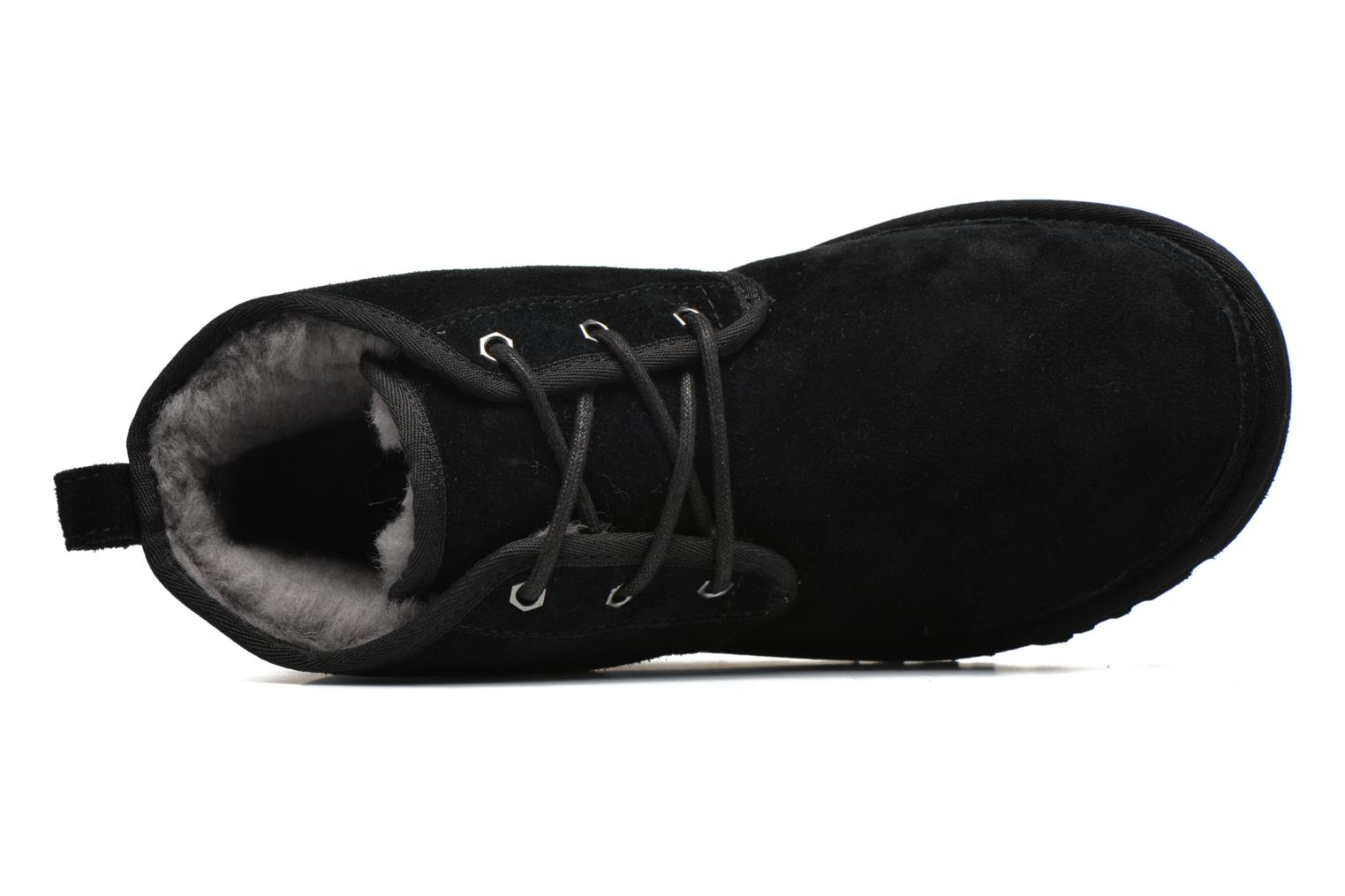 Lace-up shoes UGG Neumel Black view from the left