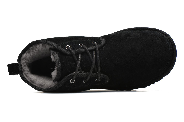 Scarpe con lacci UGG Neumel Nero immagine sinistra