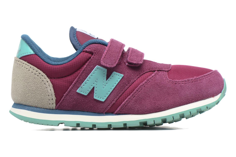 Sneaker New Balance KE420 M lila ansicht von hinten