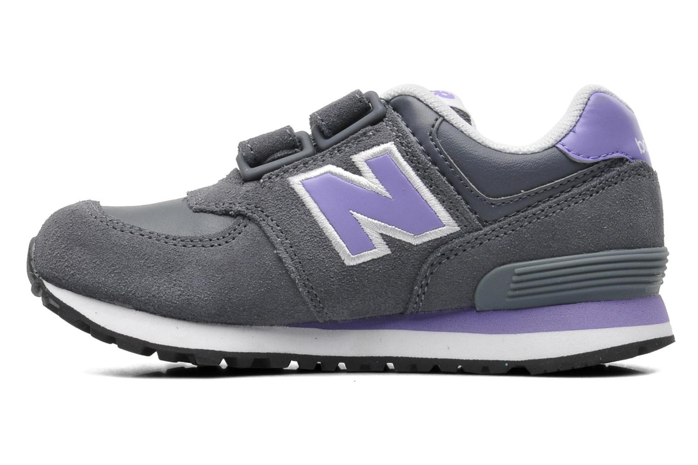 Sneaker New Balance KG574 grau ansicht von vorne