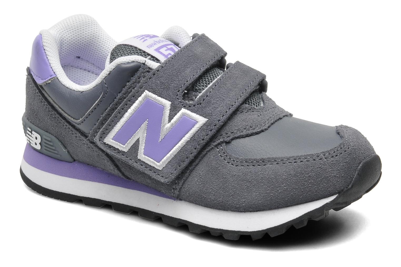 Sneaker New Balance KG574 grau detaillierte ansicht/modell