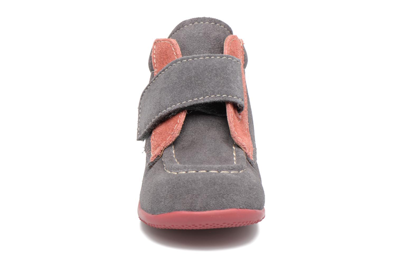 Skor med kardborrband Kickers Bono Grå bild av skorna på