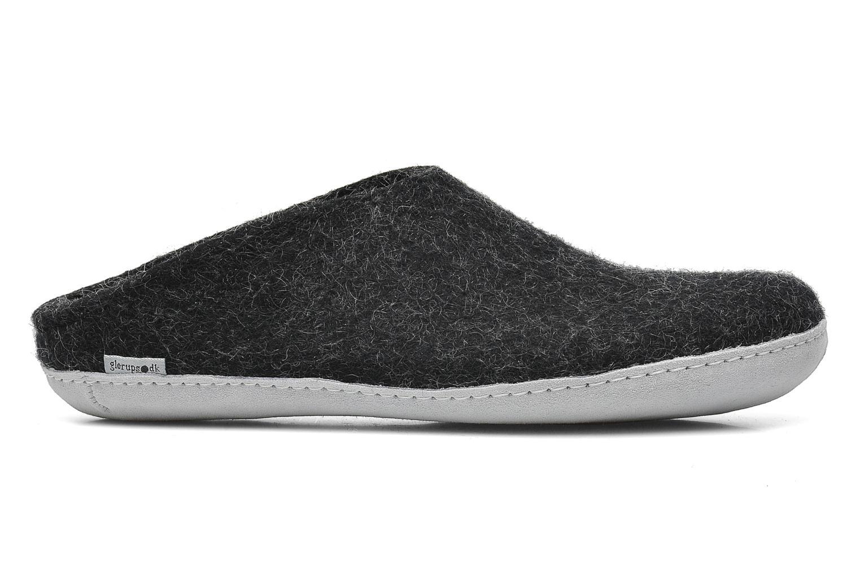 Pantoffels Glerups Piras M Zwart achterkant