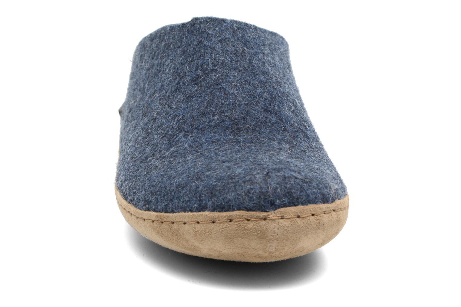 Slippers Glerups Piras M Blue model view