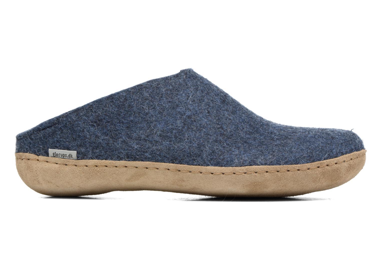 Pantoffels Glerups Piras M Blauw achterkant