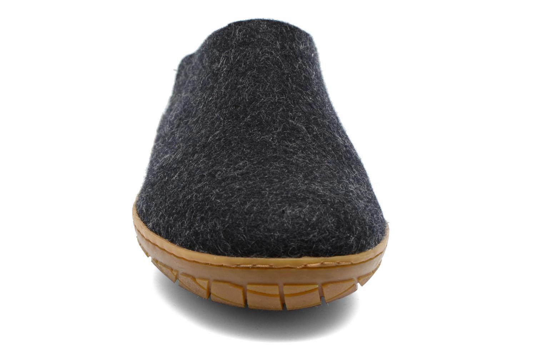 Chaussons Glerups Piras Gomme M Noir vue portées chaussures