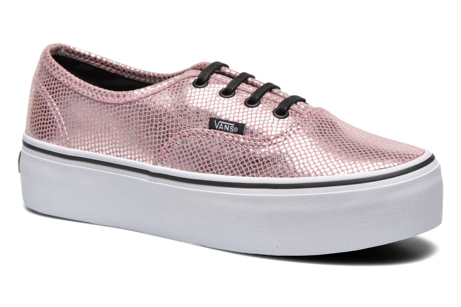 vans authentic platform damen