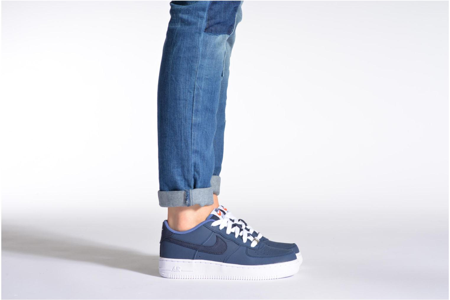 Air Force 1 (Gs) WHITE PHOTO BLUE IT- MGNT GRY-VIT