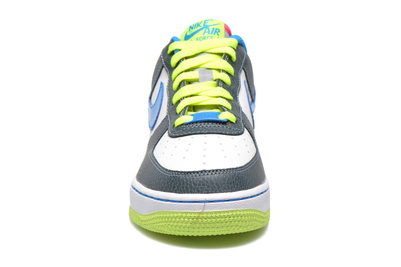 Baskets Nike Air Force 1 (Gs) Bleu vue portées chaussures