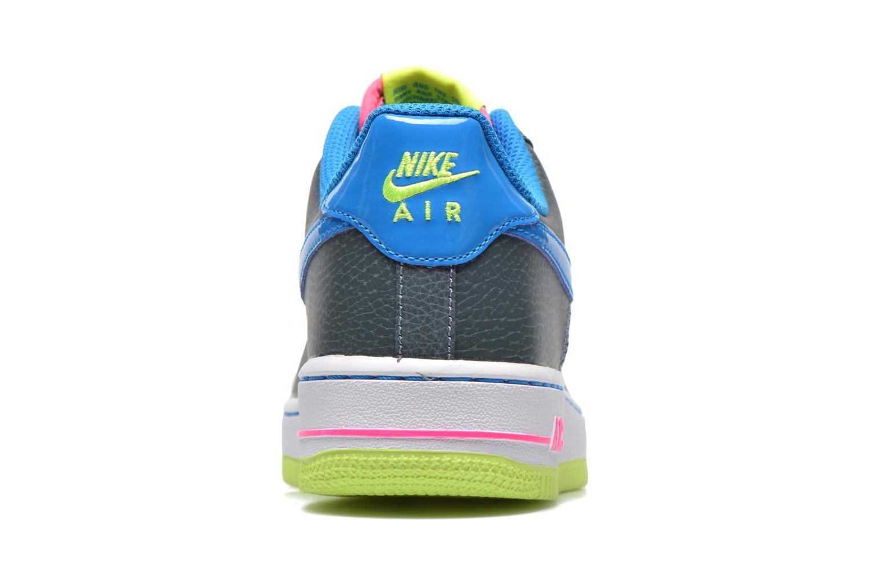 Baskets Nike Air Force 1 (Gs) Bleu vue droite