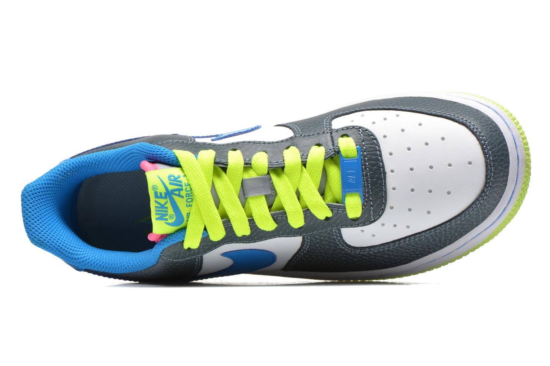 Baskets Nike Air Force 1 (Gs) Bleu vue gauche
