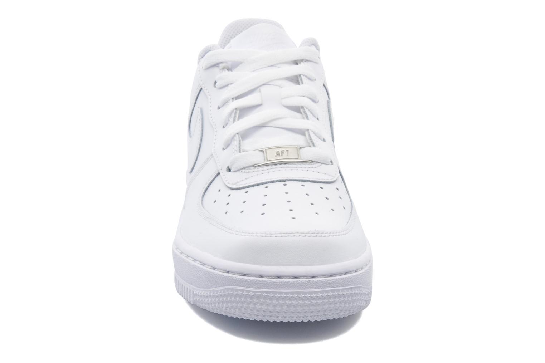Sneaker Nike Air Force 1 (Gs) weiß schuhe getragen