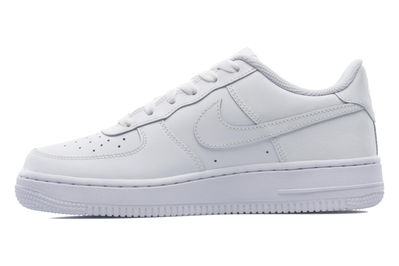 Baskets Nike Air Force 1 (Gs) Blanc vue face