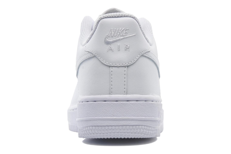 Sneaker Nike Air Force 1 (Gs) weiß ansicht von rechts