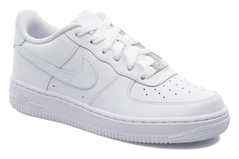 Sneaker Nike Air Force 1 (Gs) weiß detaillierte ansicht/modell