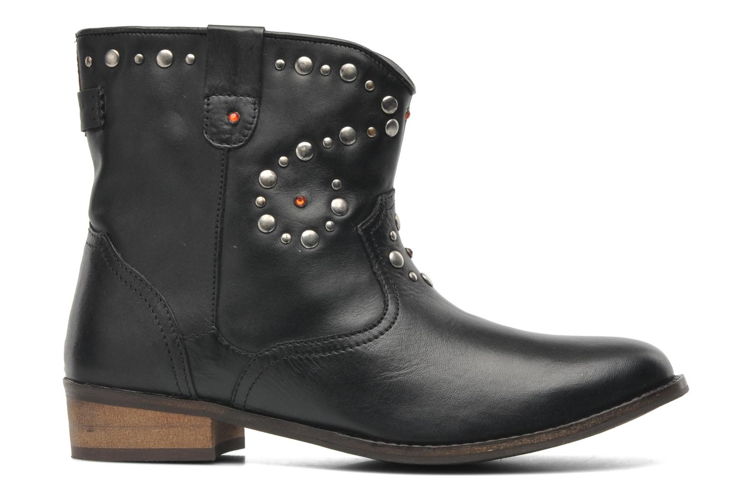 Ankle boots Pepe jeans BOWIE STUDS Black back view
