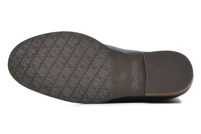 Stiefeletten & Boots Pepe jeans BOWIE STUDS schwarz ansicht von oben
