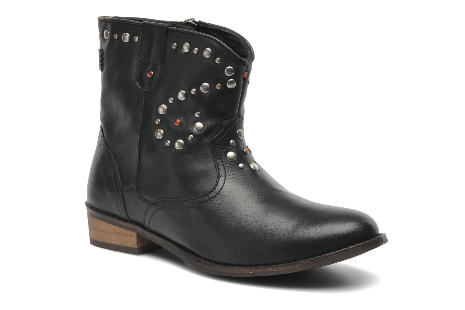 Ankle boots Pepe jeans BOWIE STUDS Black detailed view/ Pair view