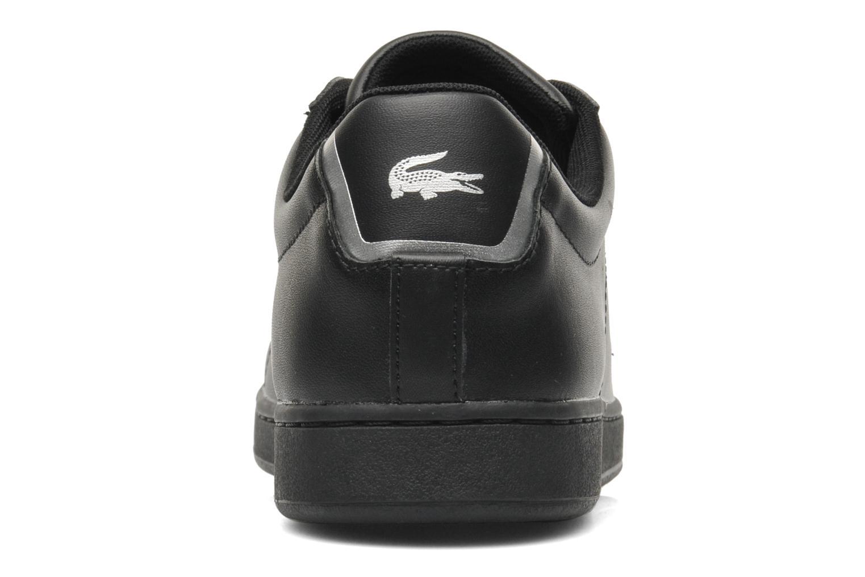 Sneakers Lacoste Carnaby Evo Ctr Zwart rechts